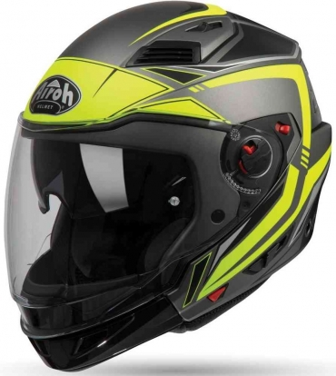 Casco modulare Shark EVO ES ENDLESS Yellow Black Silver