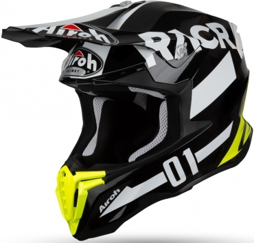 Casco Airoh cross enduro TWIST Great Blue Matt