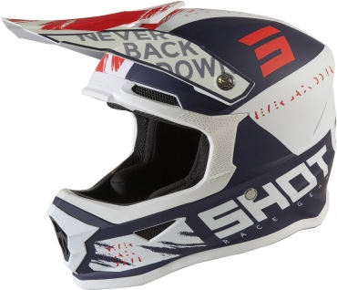 Casco cross enduro O'Neal serie 1 SOLID blue