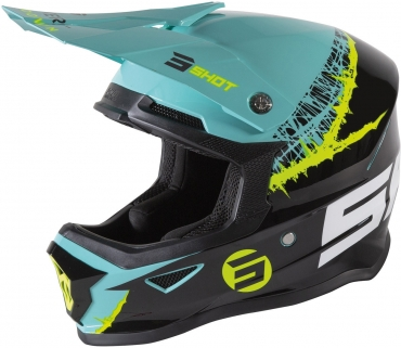 Giacca enduro Shot CLIMATIC Black Neon