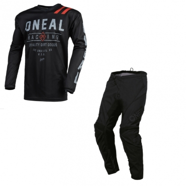 Completo cross O'Neal ELEMENT FACTOR blue red 2021 maglia+pantaloni