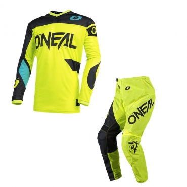 Completo cross O'Neal ELEMENT CLASSIC black maglia+pantaloni