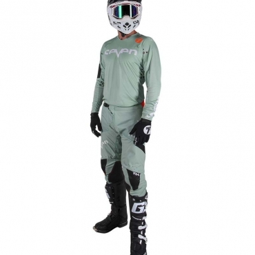 Completo cross enduro Fox FLEXAIR DUSC Grey 2020 pantaloni+maglia