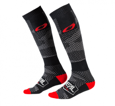 Calze O'Neal Pro MX Sock MOTO LIFE White red blue (One Size)