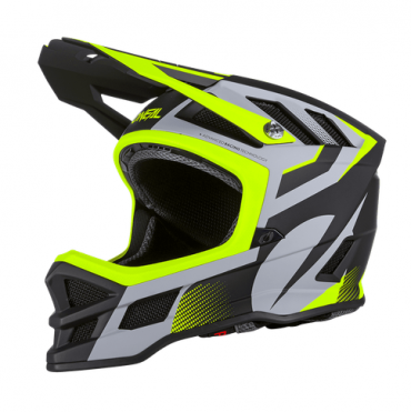 Casco MTB O'Neal BLADE Polyacrylite ACE black/neon yellow/gray