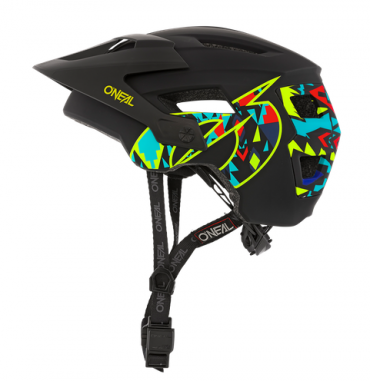 Casco bambino MTB O'Neal DIRT LID EMOJI black/yellow