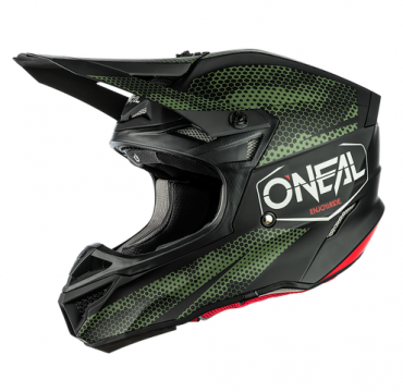 Casco cross enduro O'Neal serie 10 Hyperlite COMPACT gray/red