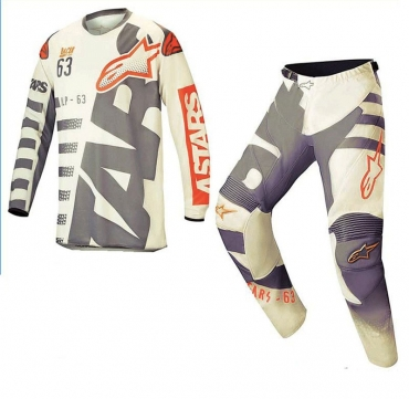 Completo cross enduro O'Neal Matrix Ridewear Nero Bianco