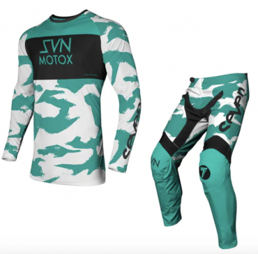 Completo cross Seven VOX PURSUIT Mint 2021 pantaloni+maglia