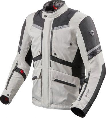 Giacca moto Alpinestars BOGOTA V2 Drystar grigio sabbia