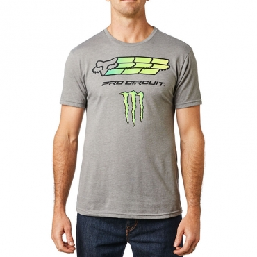 FOX MONSTER PRO CIRCUIT PREMIUM T-SHIRT nera