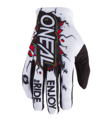 Guanti cross O'Neal MATRIX GLOVE VILLAIN nero