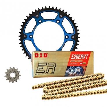 Kit trasmissione catena Did corona MotoMaster pignone per KTM EXC EXCF SX SXF 125 200 250 300 350 400 450 500 520 525 530 offerta speciale