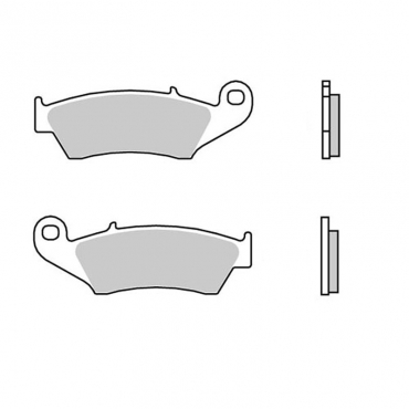 Pastiglie AP Kawasaki  posteriori standard