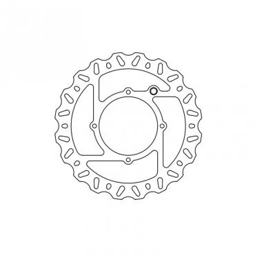 Disco freno TRW Husqvarna  anteriore
