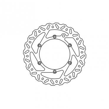 Disco freno TRW Husqvarna  posteriore