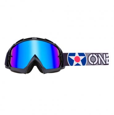 Occhiali (maschera) cross 100% Accuri 2 OTG Red lente chiara