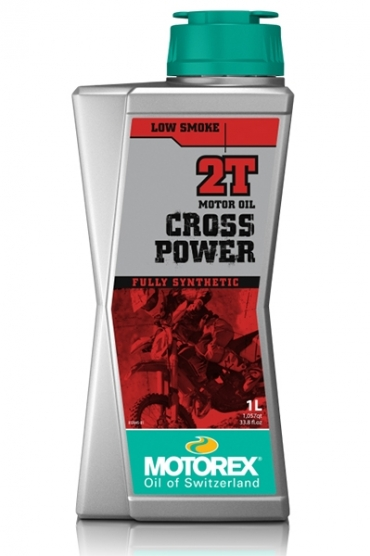 Motorex Cross Power 4T 10W60 olio motore sintetico competizione