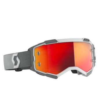 Occhiali (maschera) cross 2020 Scott FURY red lente orange chrome