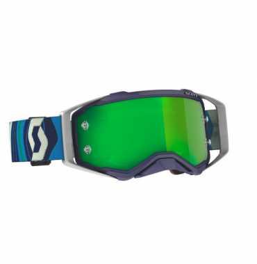 Occhiali (maschera) cross Scott PROSPECT ENDURO kaki green lente chiara doppia ventilata