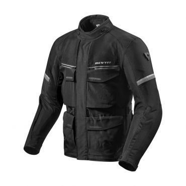 Giacca moto traforata Rev'it TORNADO 3 Black