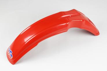Parafango anteriore rosso Ufo per Husqvarna 80cc 125cc