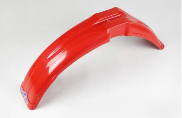 Parafango anteriore universale Ufo con feritoie cross-enduro rosso per Villa