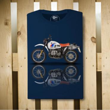 Giacca impermeabile Original Race VESPA RG blu navy