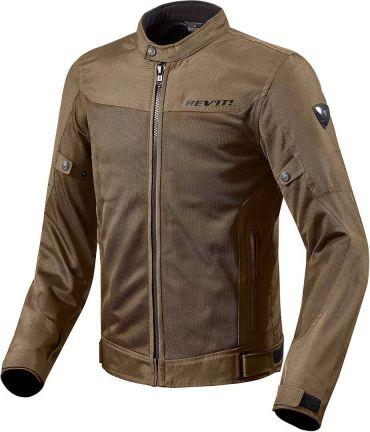 Giacca moto Rev'it CAYENNE PRO Grigio Chiaro Verde