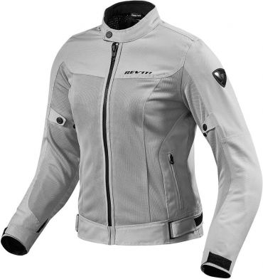 Giubbino moto ventilato Rev'it TRACTION Verde Militare