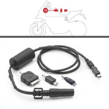 Presa elettrica 12V da montare a manubrio Givi S110