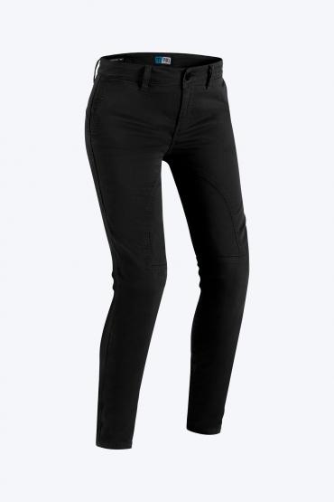 Jeans da moto donna con protezioni e Kevlar® Promo Jeans CAFE RACER LEGEND LADY Blu