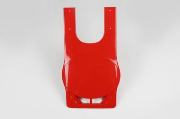Parafango anteriore rosso Ufo per Accossato 80cc