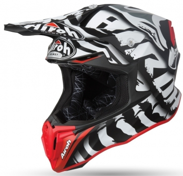 Casco jet Airoh CITY ONE HEART White Gloss