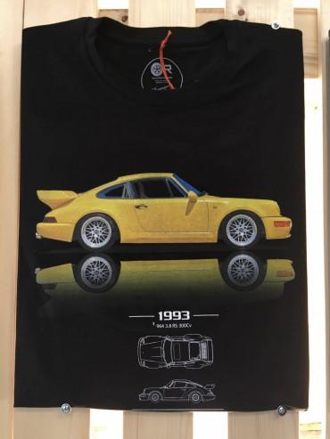 T-Shirt Original Race TRATTORE Blu Navy cotone organico