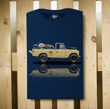 T-Shirt Original Race BONEVILLE TT Nero cotone jersey