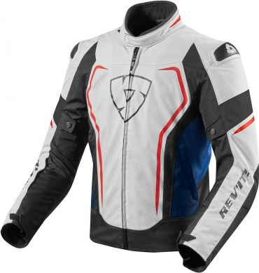 Giacca moto Rev'it VOLTIAC 2 Ladies nero argento