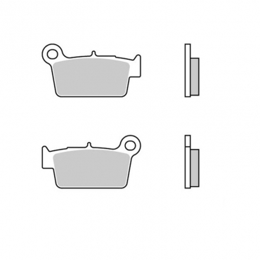 Pastiglie WRP Suzuki  posteriori ceramic