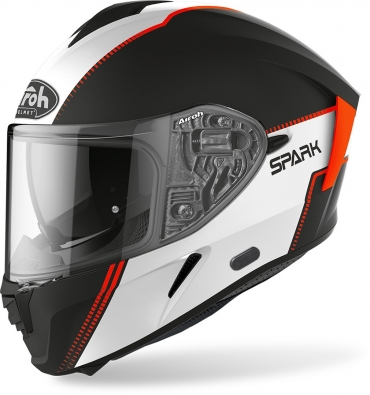 Casco integrale Dmd RACER FLASH nero bianco