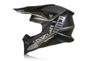 Casco cross enduro O'Neal Serie 3 RIDE black blue