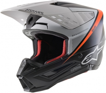Casco cross enduro O'Neal serie 8 2T blue