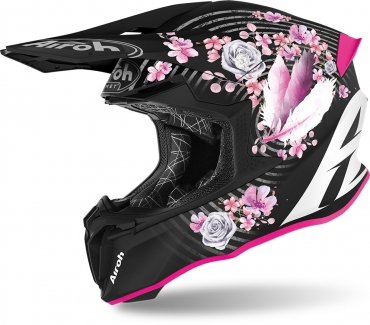 Casco cross enduro Acerbis IMPACT STEEL CARBON Bianco