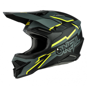 Casco cross Alpinestars Supertech S-M8 RADIUM Aqua Yellow flow Navy M&G
