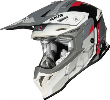 Casco Airoh cross enduro AVIATOR ACE NEMESI blu gloss