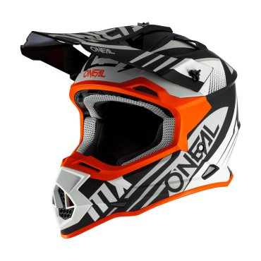 Casco cross Bell Moto 9 Flex Syndrome Matte Black