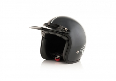 Casco jet Shark ATV DRAK Off Road Black Matt