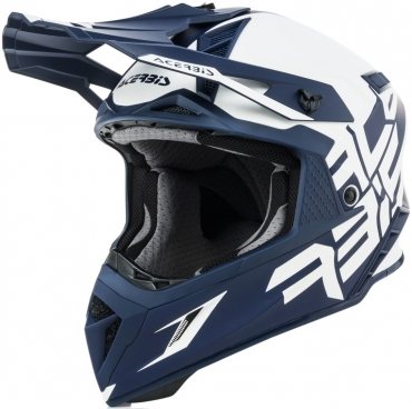 Casco dual road O'Neal Sierra R blue white