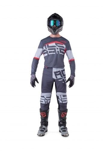 Completo cross O'Neal ELEMENT RACEWEAR 2021 nero bianco maglia+pantaloni