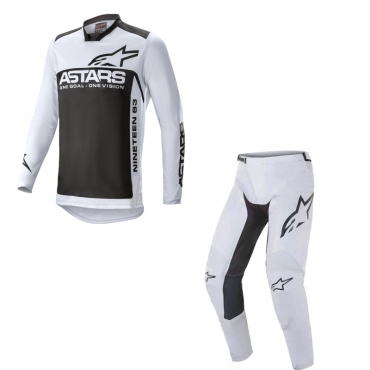 Completo cross O'Neal ELEMENT SPEEDMETAL 2021 black multi maglia+pantaloni