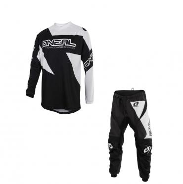 Completo cross Seven ANNEX BORTZ aqua navy 2020 pantaloni+maglia
